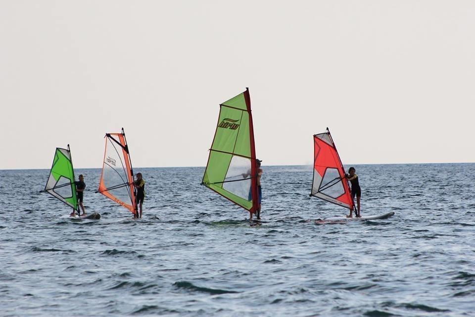 Windsurfing Lessons In Beautiful Fa Ana Croatia Ridewithlocal